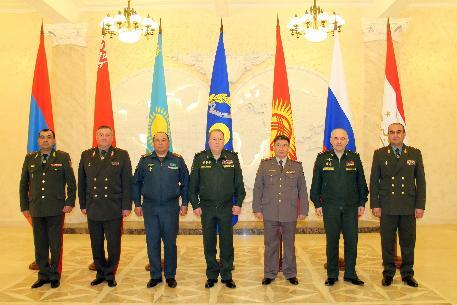 Рабочая встреча начальников главных оперативных управлений генеральных штабов вооруженных сил государств – членов ОДКБ